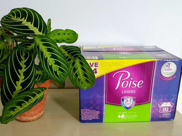 #ad Poise Liners hygiene essentials basket #FamilyCaregivingAtSC