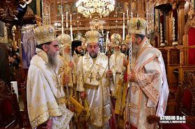 Πολυαρχιερατική Θεία Λειτουργία για τον Πολιούχο του Άργους Άγιο Πέτρο (βίντεο)
