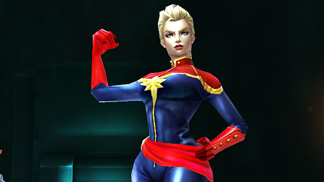 Captain Marvel karakter universal terkuat di Marvel Future Fight