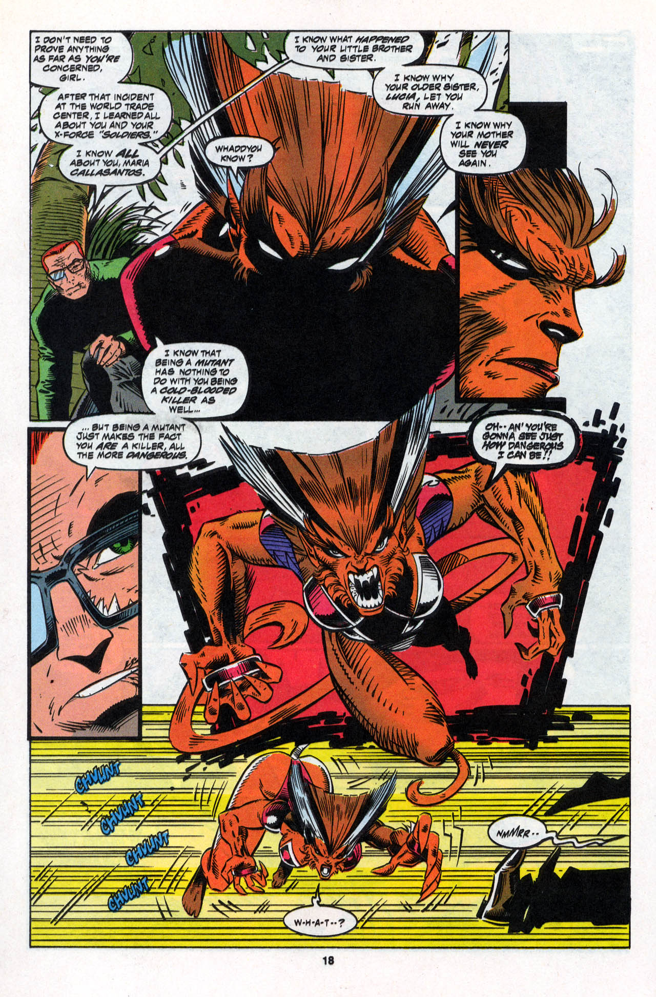 Read online X-Force (1991) comic -  Issue #28 - 19