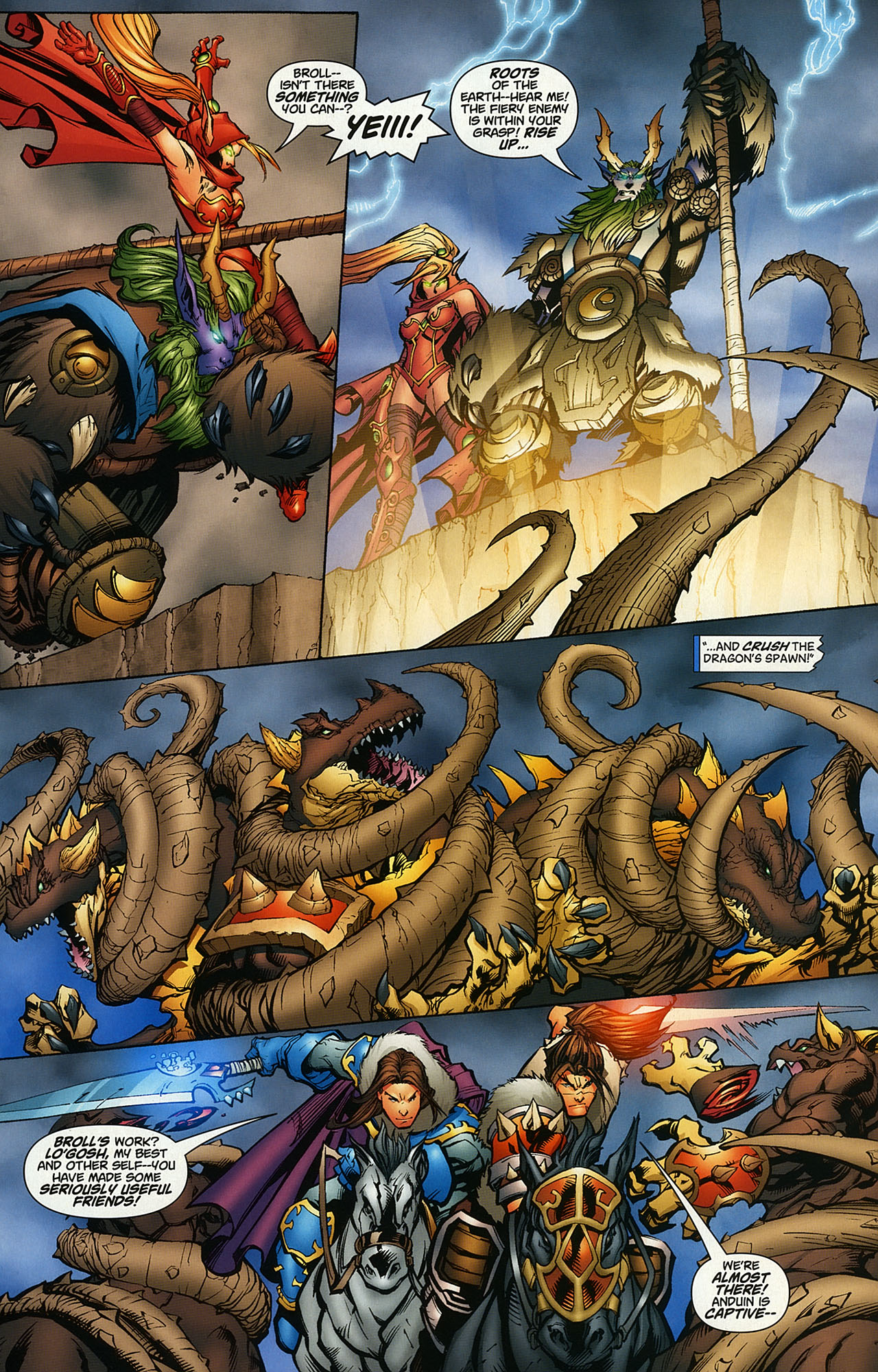 Read online World of Warcraft comic -  Issue #14 - 5