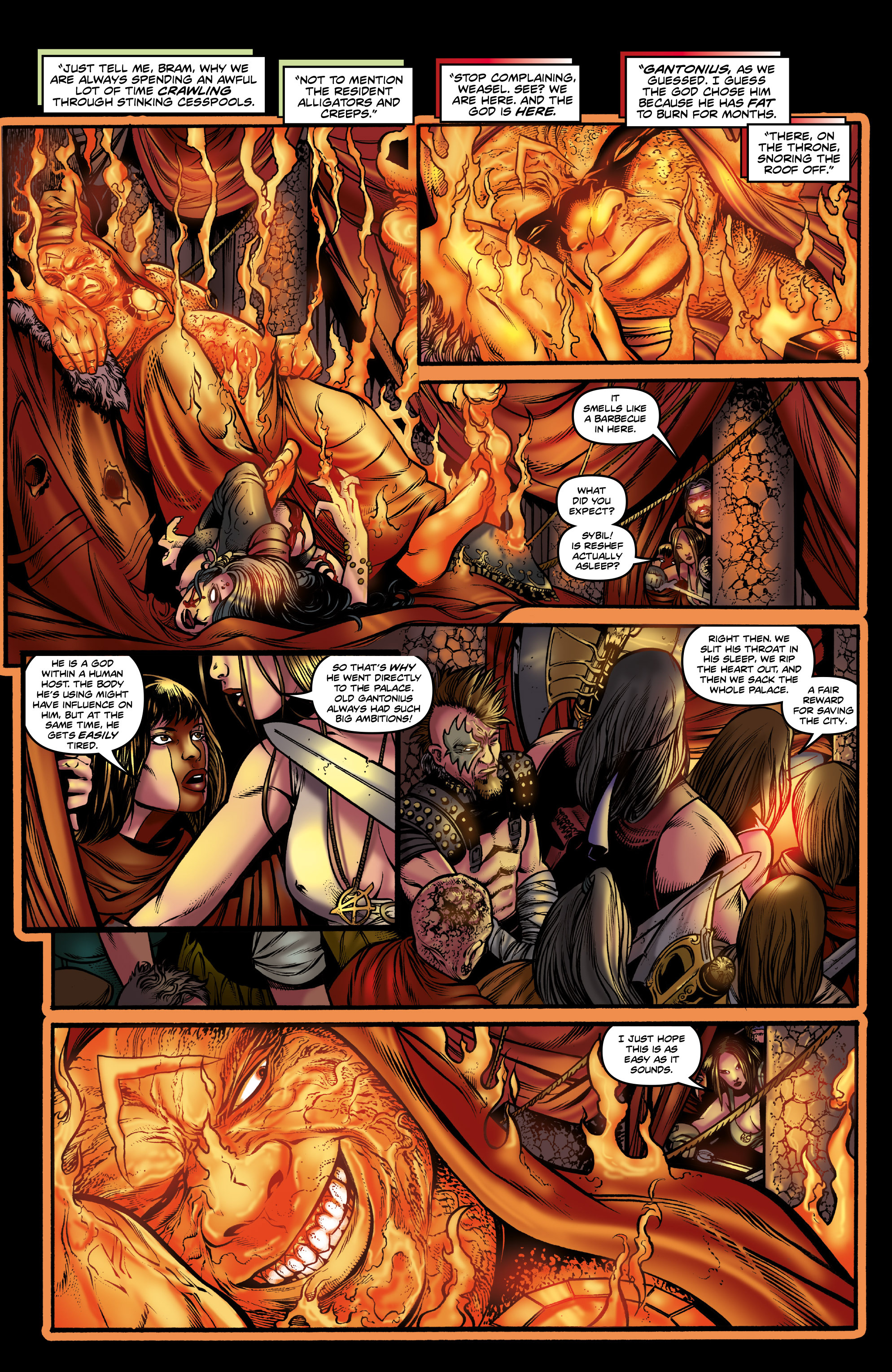 Read online Rogues!: The Burning Heart comic -  Issue #3 - 13