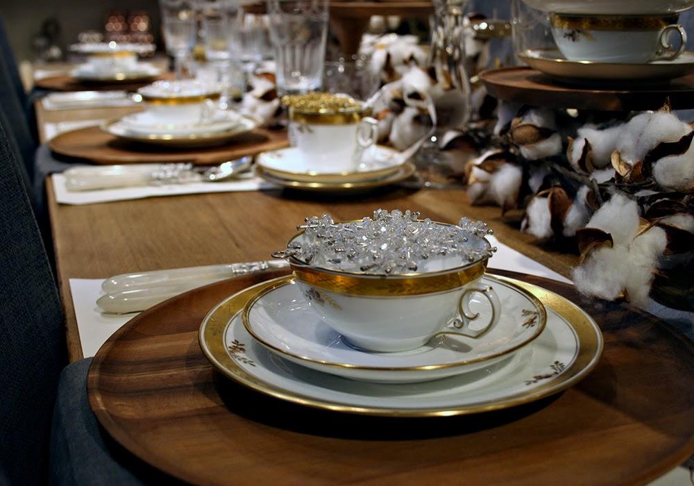 The Paris Market Brocante Setting The Table White And