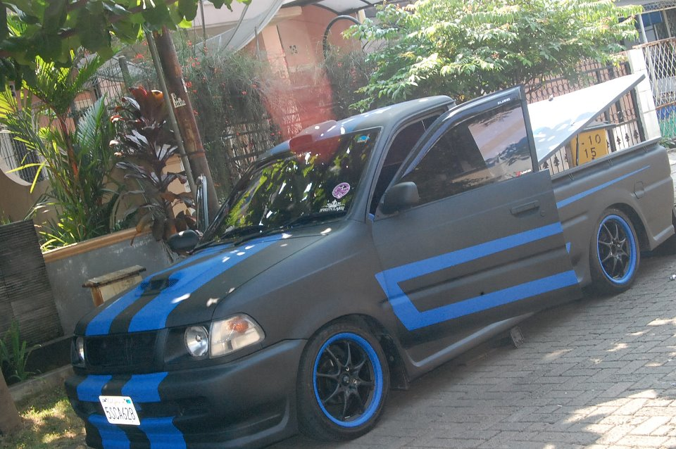 Modifikasi mobil pick up terbaru carry futura l300 t120ss ...