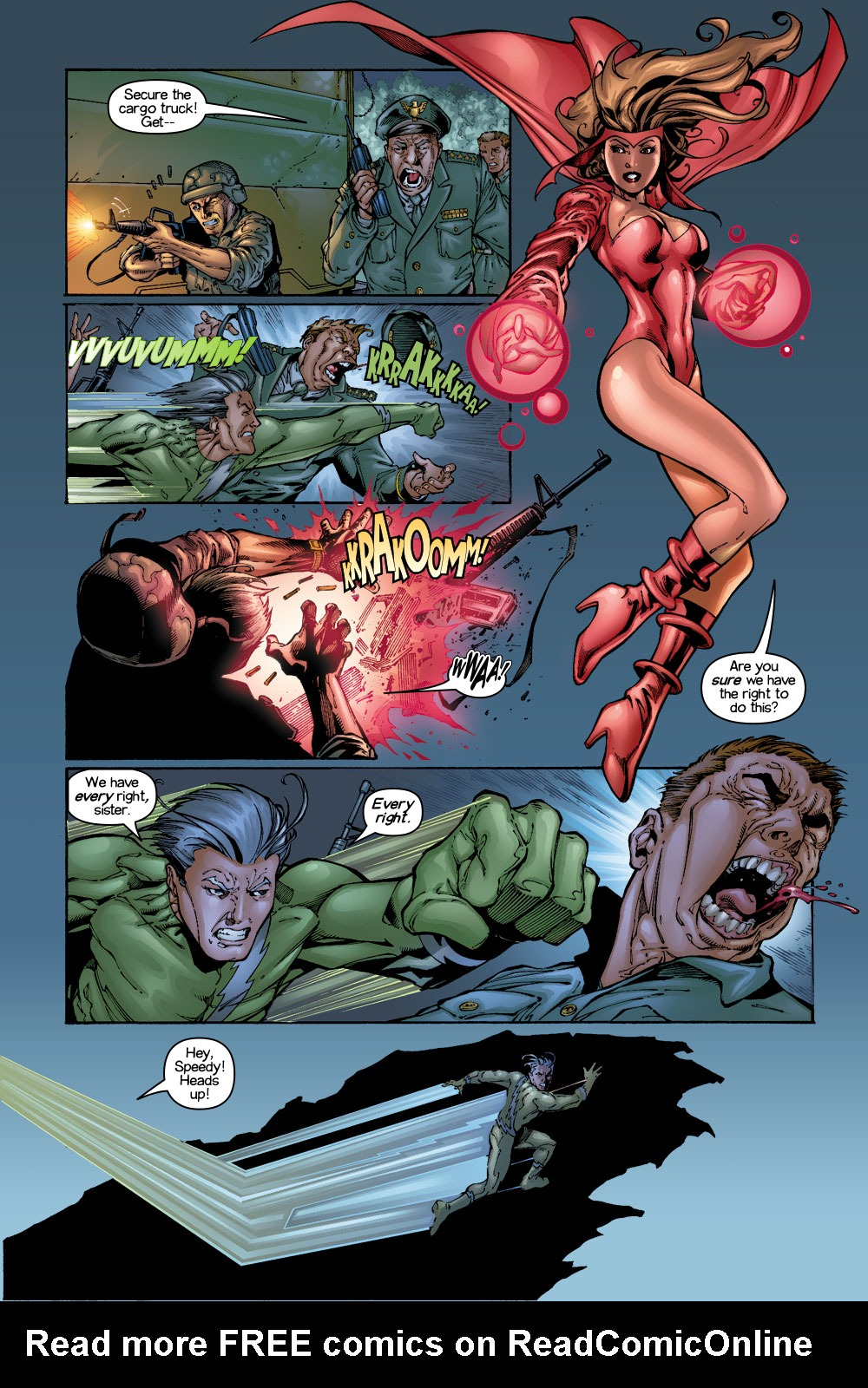 Read online Ultimate X-Men comic -  Issue #1/2 - 4
