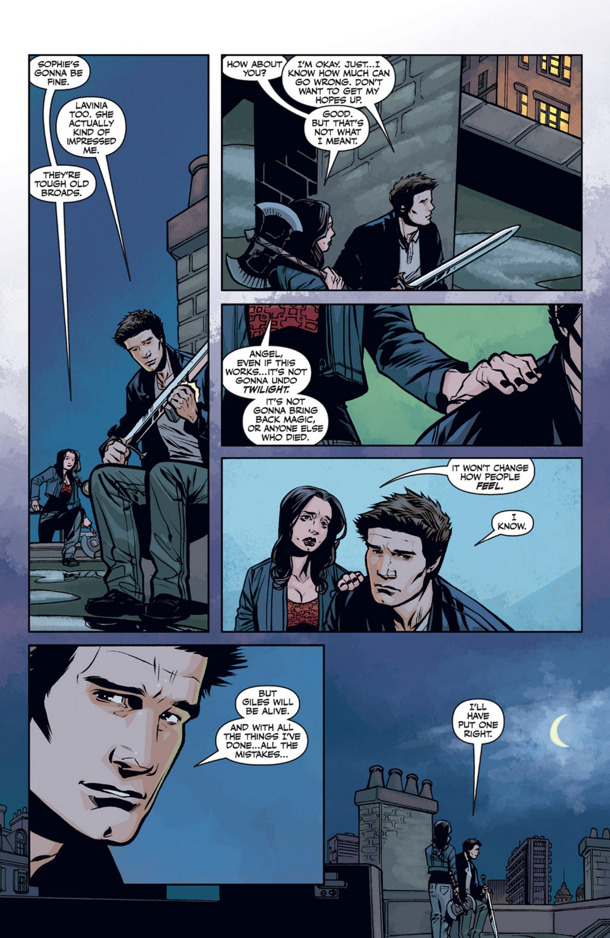Read online Angel and Faith comic -  Issue #21 - 16
