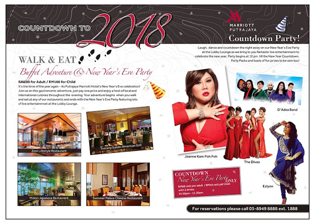New Year Eve Dinner Putrajaya Marriott Hotel