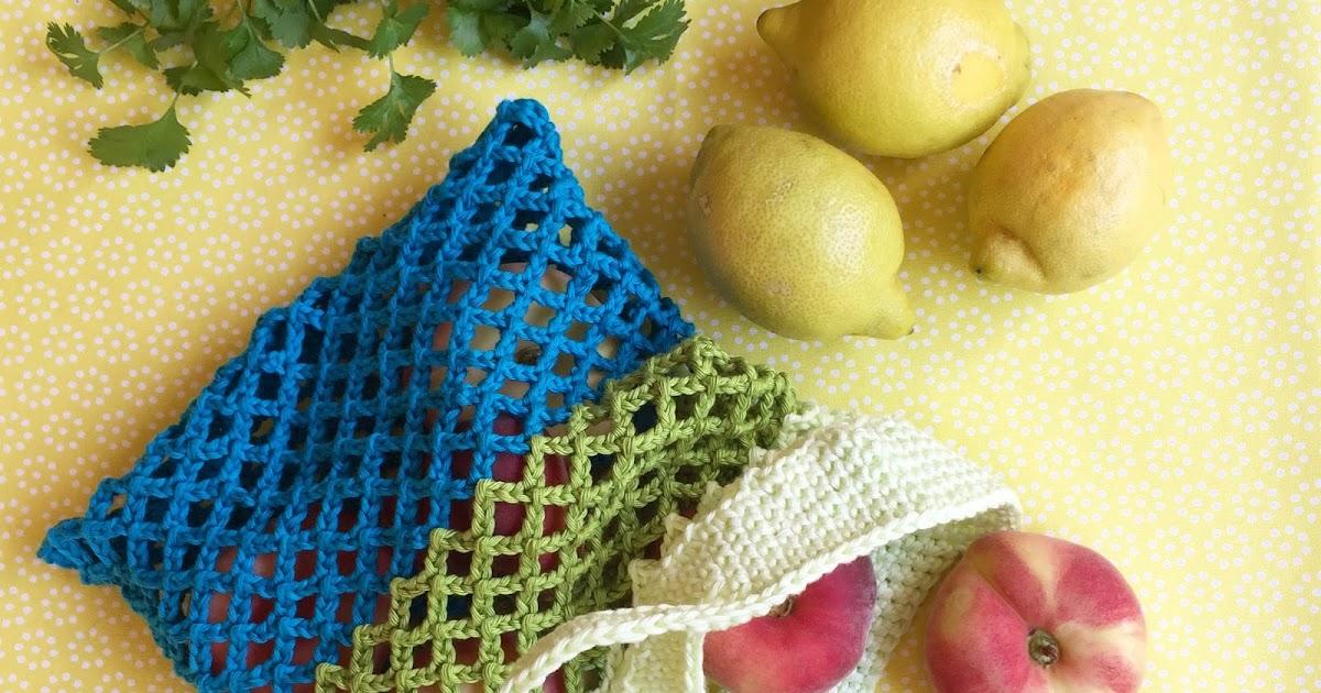 Häkelanleitung Für Ein Einkaufsnetz Zuckersüße äpfel
