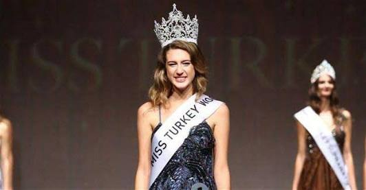 18-year-old Miss Turkey stripped of her crown over controversial coup tweet (Photos)