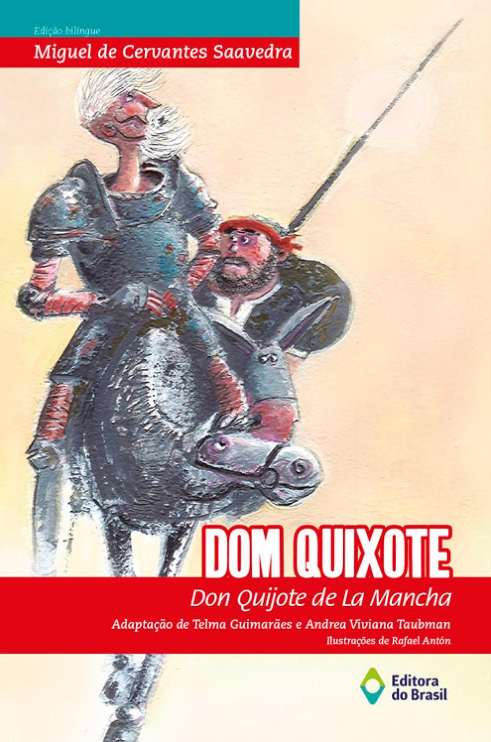 Dom Quixote ganha versão bilíngue feita a seis mãos ~ Revista ... 9719765b013b2