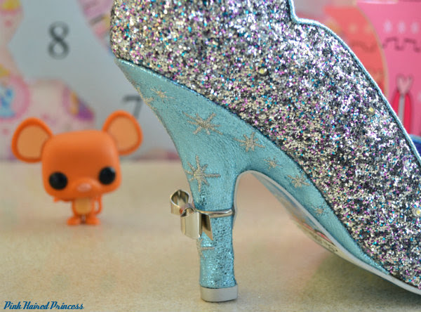 irregular choice sparkling slipper heel detail
