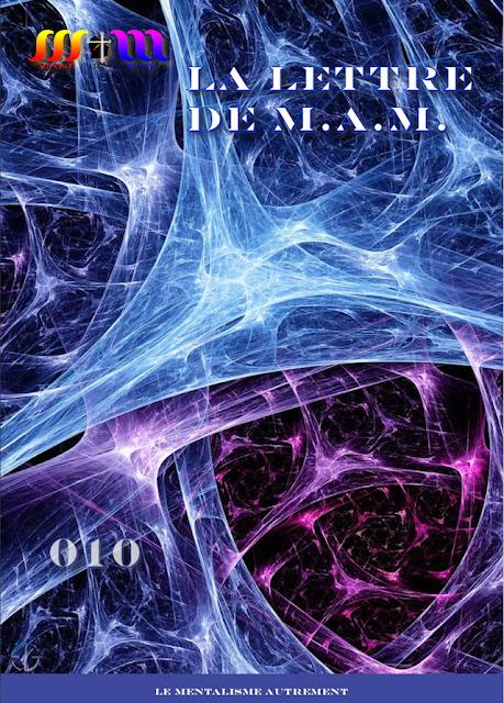 La Lettre de M.A.M. n° 010  -  Avril / Juin 2015