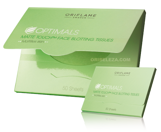 Toalhetes Faciais Optimals Matte Touch