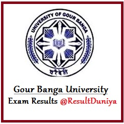 Gour Banga University BA Results 2016