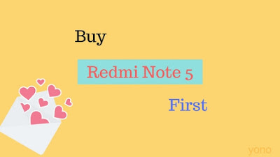 how to buy Redmi Note 5 first