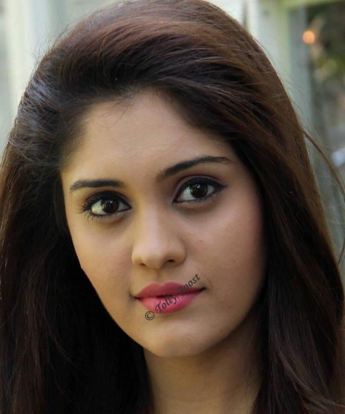 Tollywood Actress Surbhi Beautiful Smiling Face Closeup Stills