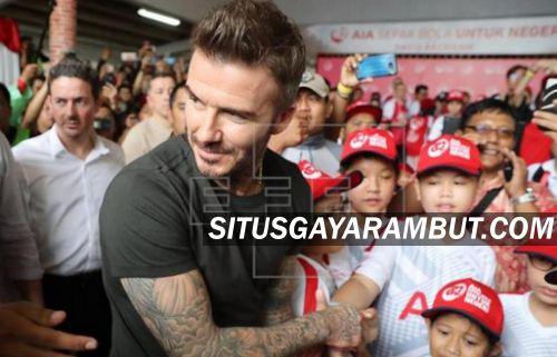Gaya Rambut David Beckham