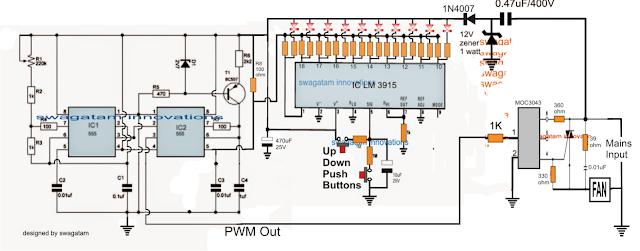 Push Button Fan Regulator with Display