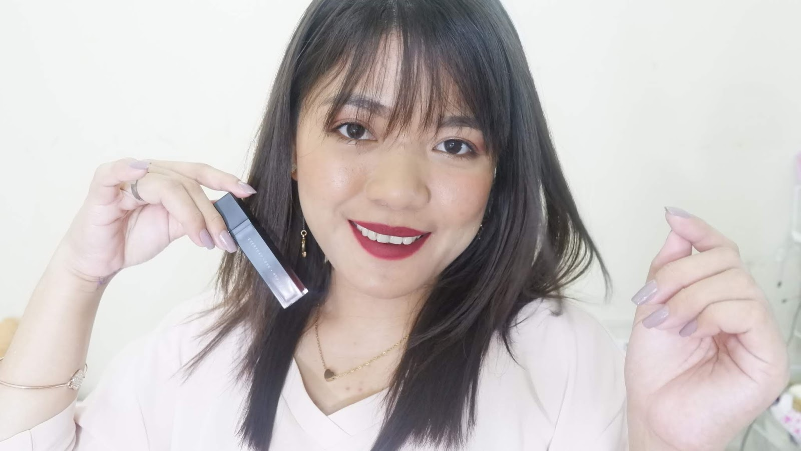 EVERYDAY LOVE PH: NUDES MATTE LIQUID LIPSTICK #8 RED LIPS REVIEW