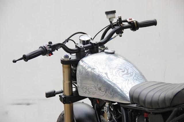 Yamaha Scorpio độ Tracker
