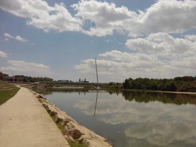 Ebro y Pasarela Manterola