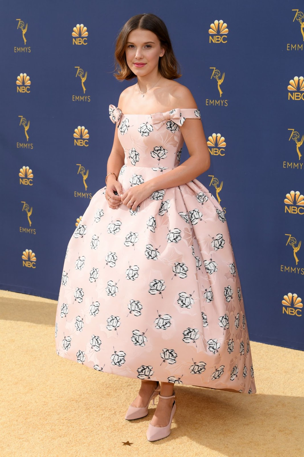 Millie Bobby Brown – 70th Emmy Awards at Microsoft Theater in Los Angeles