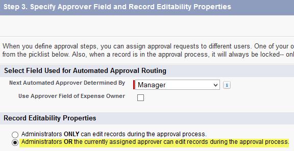 SimplySfdc com: Salesforce: Edit Locked Record