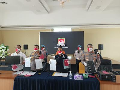 Warga Panongan Pelaku Pemalsuan Surat Hasil Swab ditangkap Polresta Tangerang
