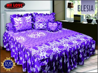 sprei rumbai my love elisia