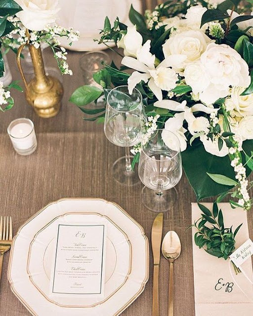 menus para bodas de dia