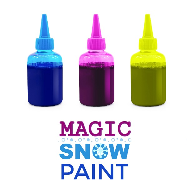 MAGIC SNOW PAINT (play recipe for kids) #snowpaint #playrecipesforkids #playrecipes #paintingideas #snowpaintingforkids #snowpainting #snowpaintrecipe #magicsnowpaint  #magicsnowrecipe #magicsnow