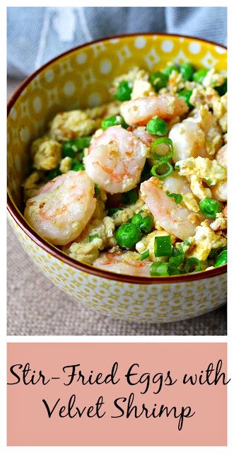 Stir-Fried Eggs with Velvet Shrimp