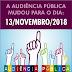 Nova data para Audiência Pública, em Mundo Novo-BA