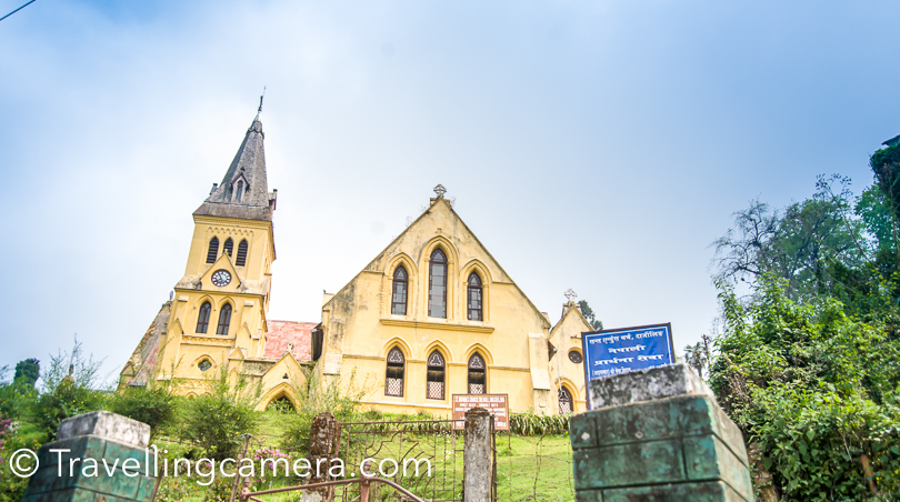 Above is a photograph of church near mall road. Whenever you take a round of Mall road till Raj Bhawan, you would see this church on your right.  Now lets talk a little about places around Darjeeling which can either be explored via taxi or on foot. It also makes sense to touch upon the options to stay and preferred areas to stay.