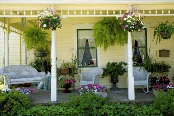 Front Porch Patio Decorating Ideas
