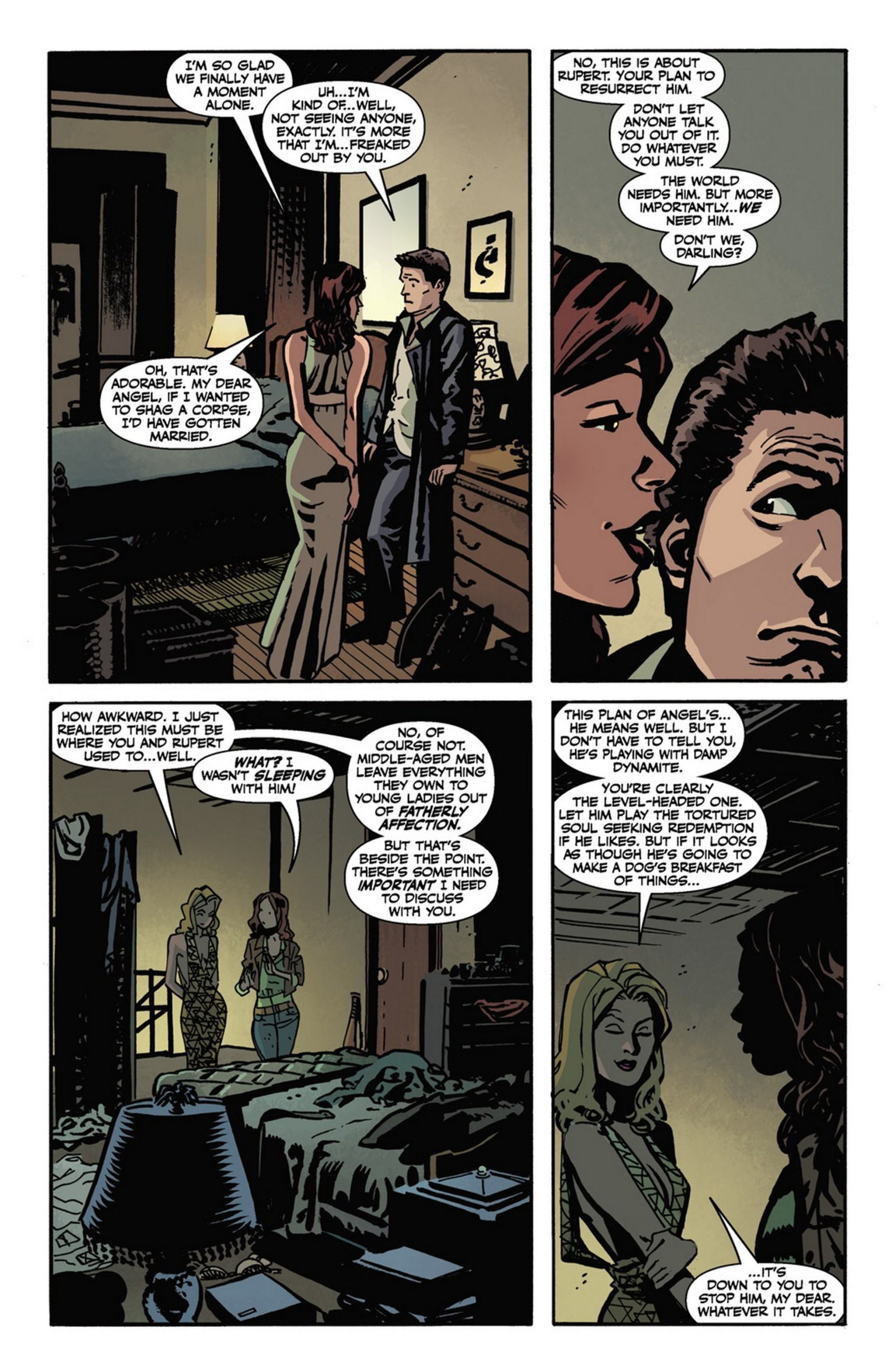 Read online Angel and Faith comic -  Issue #10 - 23