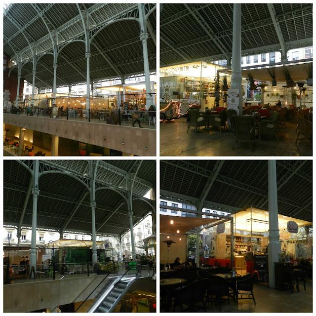Modernismo em Valência - Mercado de Colón
