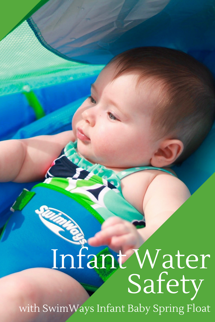 Water Safety with SwimWays Infant Baby Spring Float