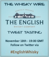 English Whisky Company Tweet Tasting