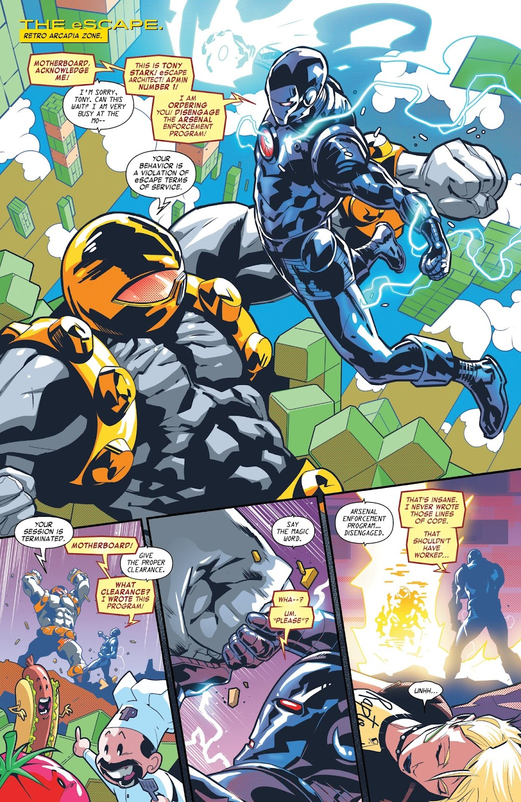 Read online Tony Stark: Iron Man comic -  Issue #7 - 5