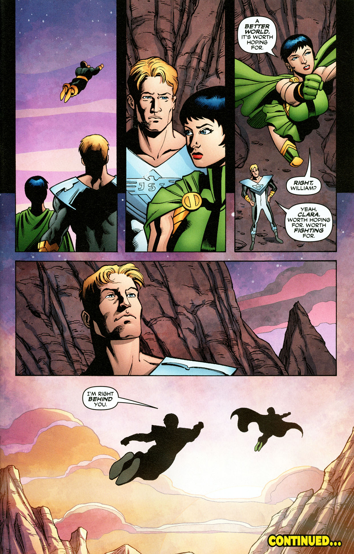 Read online Trinity (2008) comic -  Issue #32 - 32