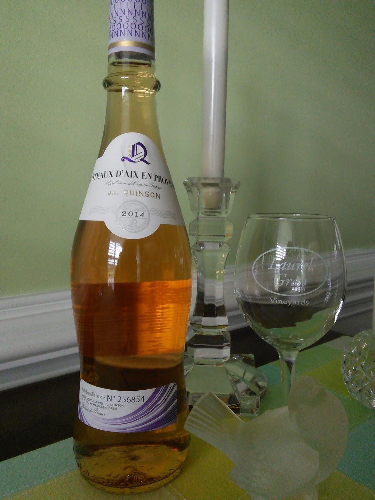 south carolina wine joe: j.l. quinson coteaux d'aix en provence