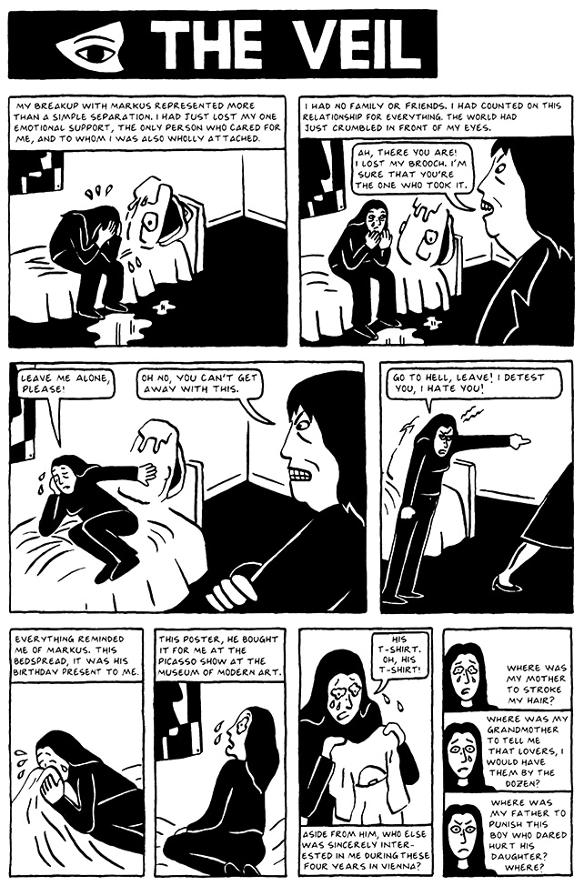 Read Chapter 9 - The Veil, page 79, from Marjane Satrapi's Persepolis 2 - The Story of a Return