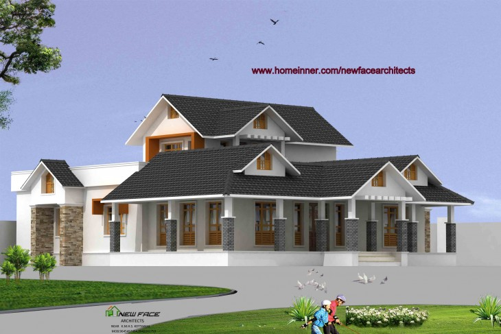 Foyer Plan Kerala : Sq ft bhk kerala house design penting ayo di share
