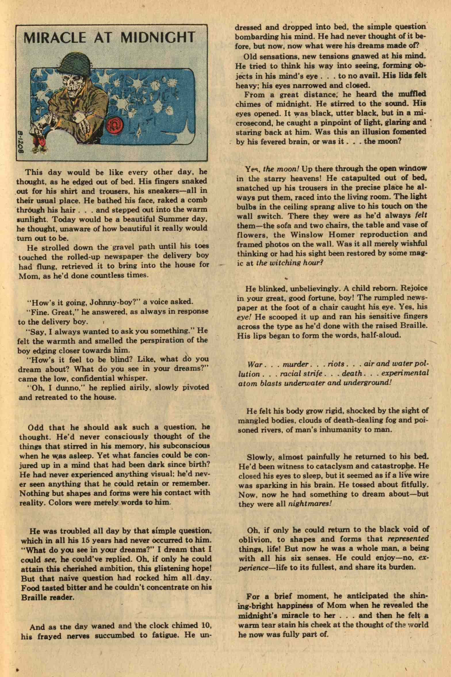 Read online Ghosts comic -  Issue #26 - 32