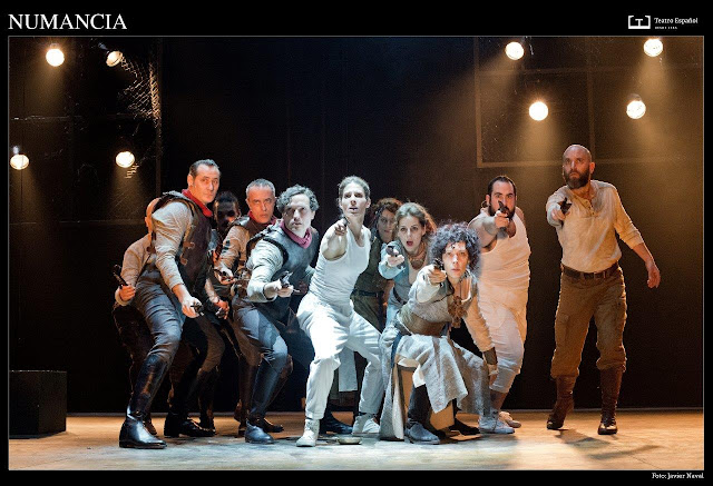 """Numancia"" de Cervantes, ""El cerco de Numancia"", Teatro Español"