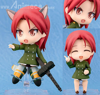 Figura Minna-Dietlinde Wilcke Nendoroid Strike Witches 2