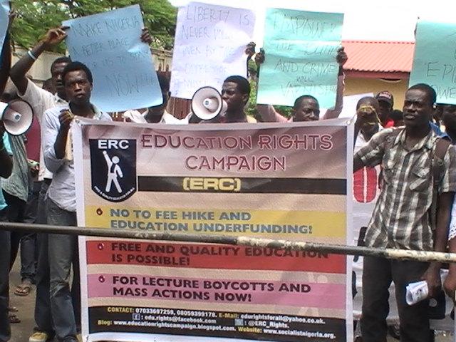 Education Right Campaign (ERC). Photo: educationrightcampaign