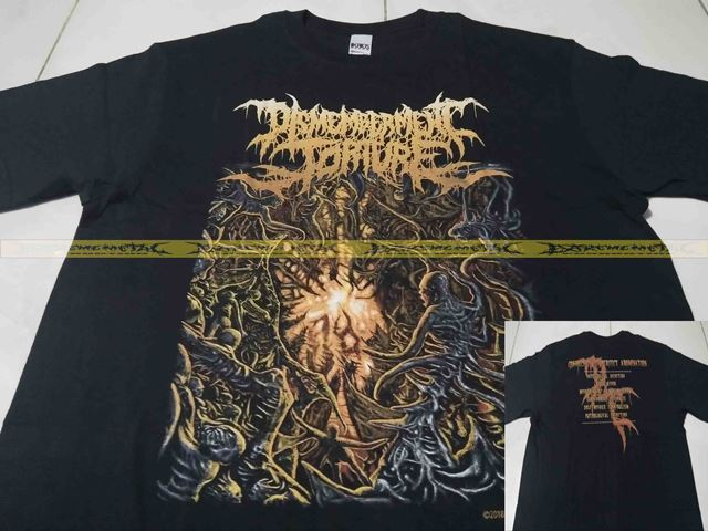 T-Shirt DISMEMBERMENT TORTURE - Convulsion Of Perfect Abomination