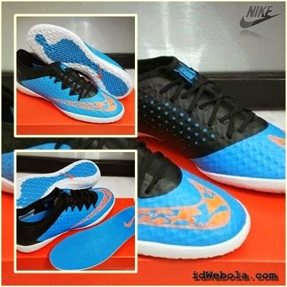 Sepatu Futsal Nike Elastico Finalle III - Biru